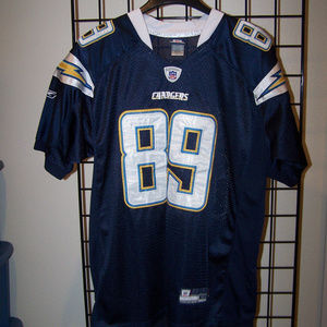 NFL REEBOK CHARGERS #89 CHAMBERS JERSEY S3324